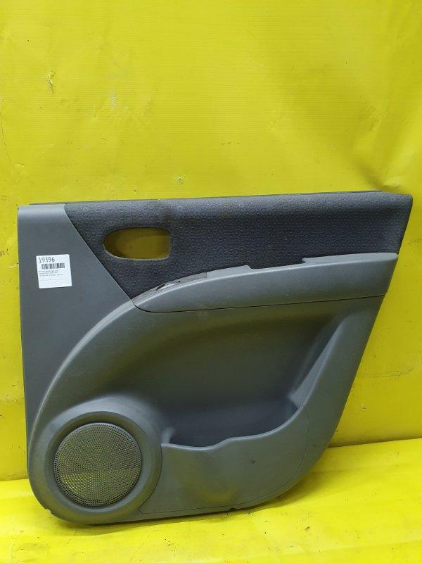 Обшивка дверей Hyundai Matrix G4ED 2005 задняя правая