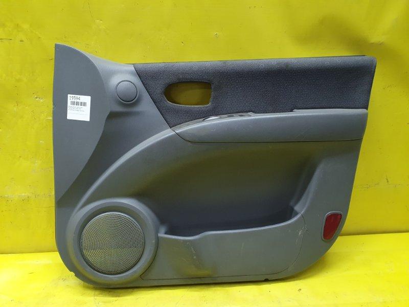 Обшивка дверей Hyundai Matrix G4ED 2005 передняя правая