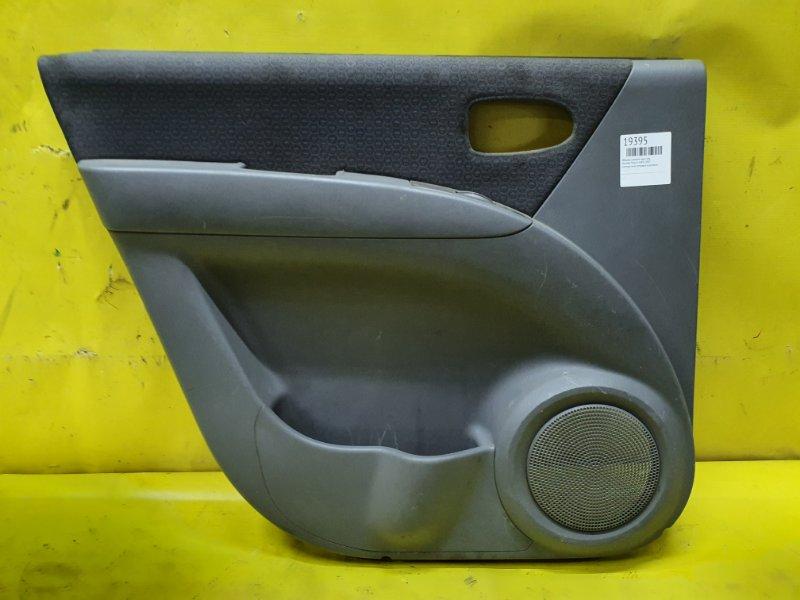 Обшивка дверей Hyundai Matrix G4ED 2005 задняя левая