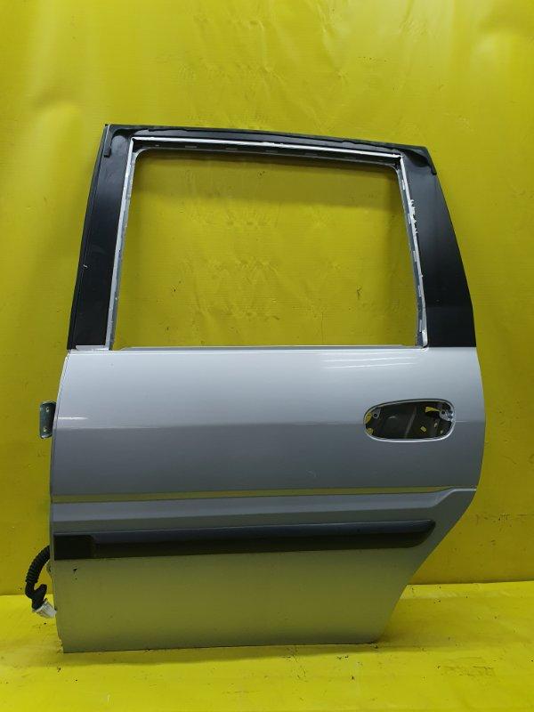 Дверь Hyundai Matrix G4ED 2005 задняя левая