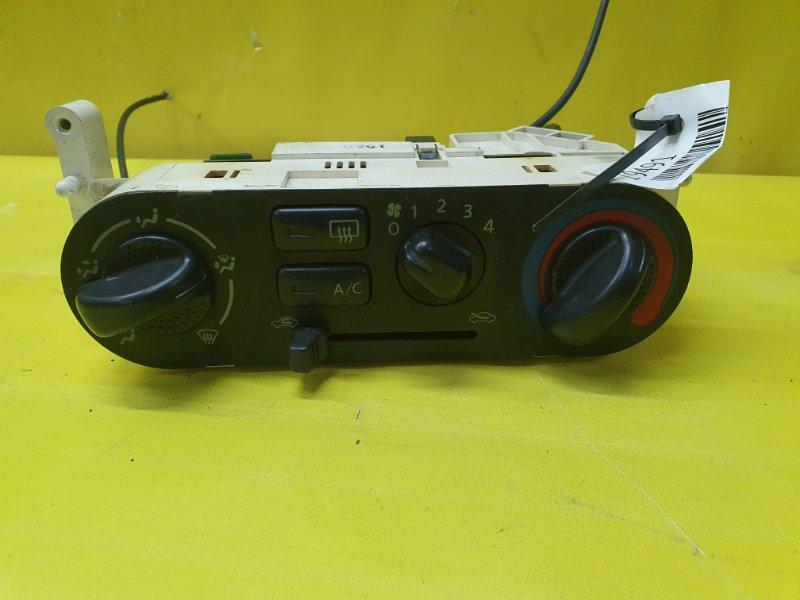Блок управления климат-контролем Nissan Sunny FB15 QG15DE 2001