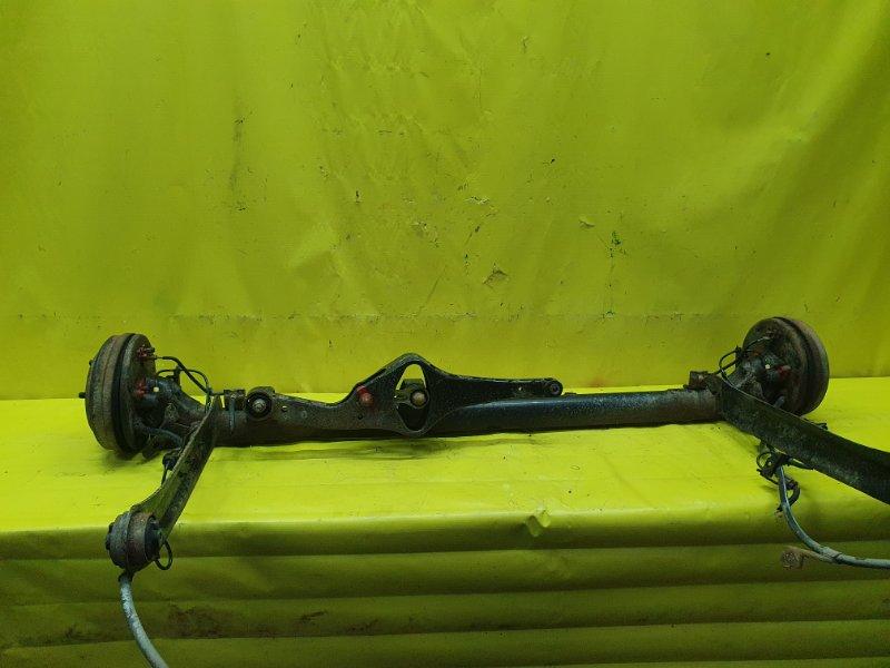 Балка подвески Nissan Sunny FB15 QG15DE 2001 задняя