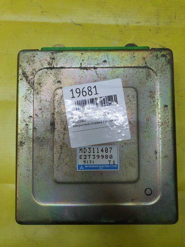 Блок управления efi Mitsubishi Pajero V45W 6G74 1995