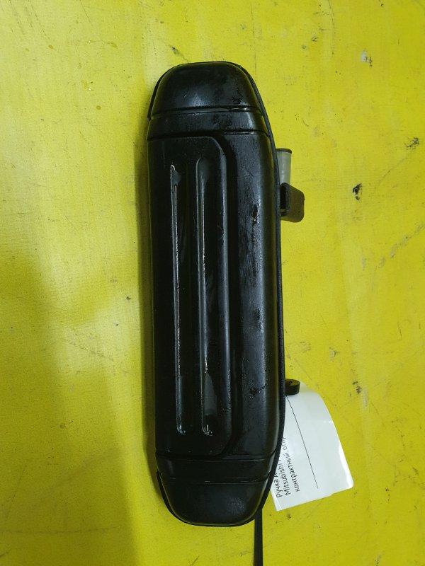 Ручка двери внешняя Mitsubishi Pajero V45W 6G74 1995 задняя правая
