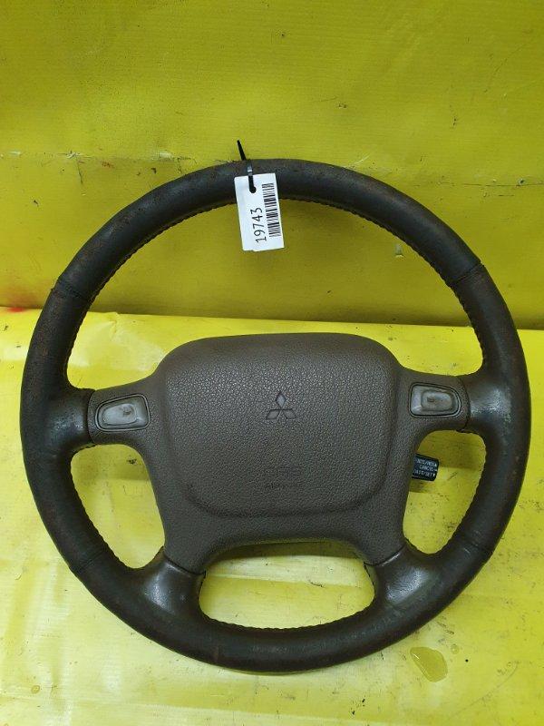 Руль Mitsubishi Pajero V45W 6G74 1995