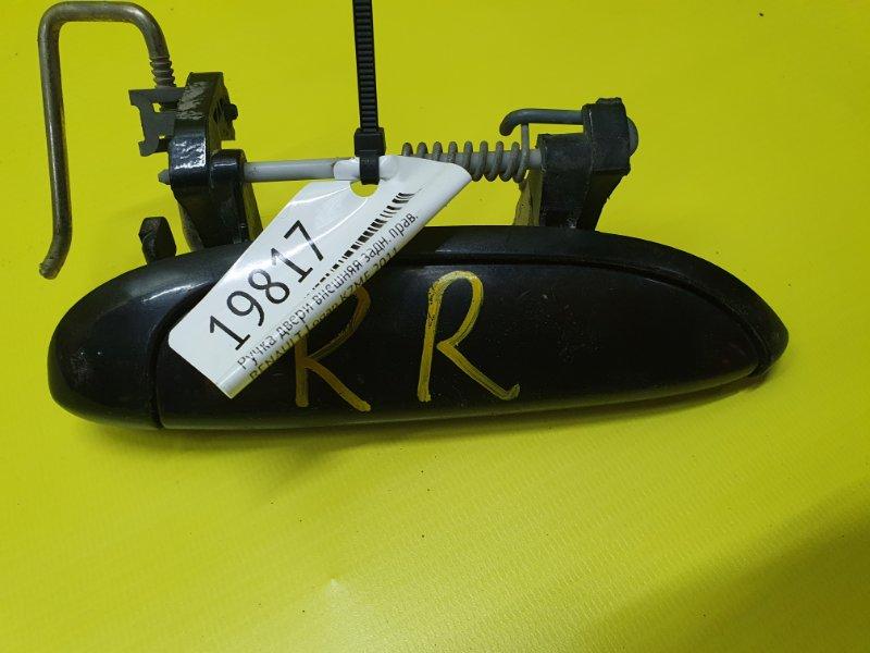 Ручка двери внешняя Renault Logan K7MF 2011 задняя правая