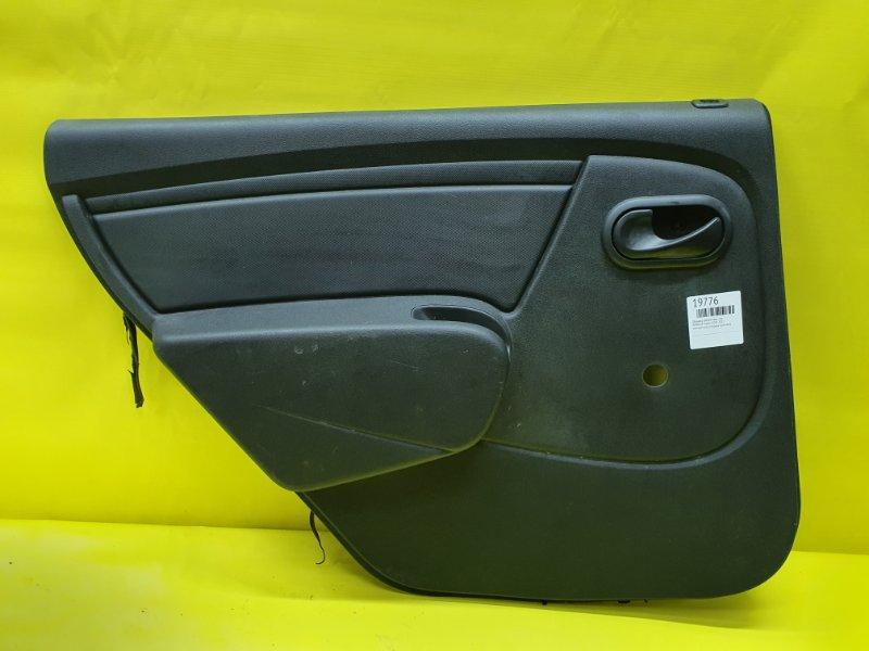 Обшивка дверей Renault Logan K7MF 2011 задняя левая