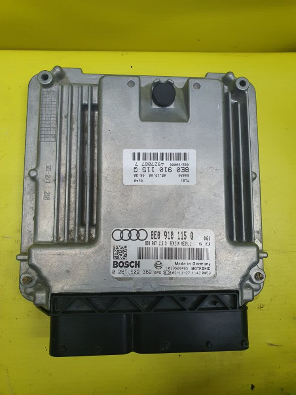 Блок управления efi Audi A4 8E BWE 2007