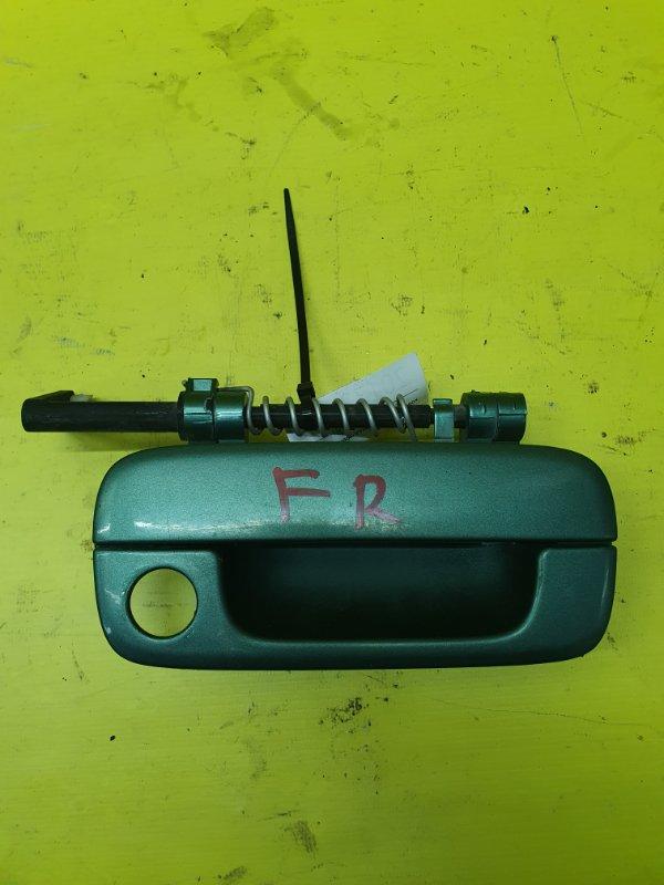 Ручка двери внешняя Peugeot 406 8B PSA6FZ10LT 2001 передняя правая