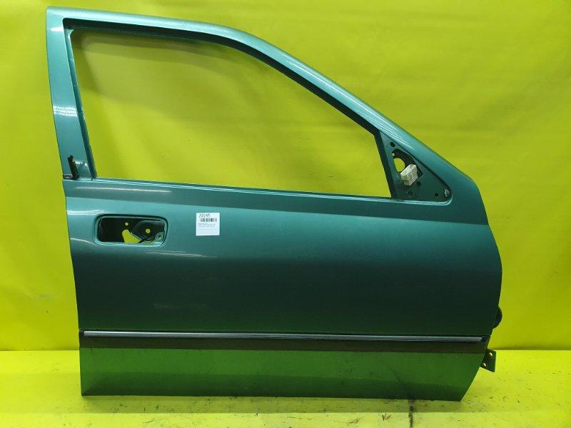 Дверь Peugeot 406 8B PSA6FZ10LT 2001 передняя правая