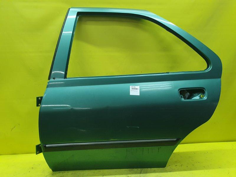 Дверь Peugeot 406 8B PSA6FZ10LT 2001 задняя левая