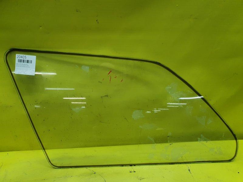 Стекло собачника Toyota Corolla CE106 2C 1994 заднее левое