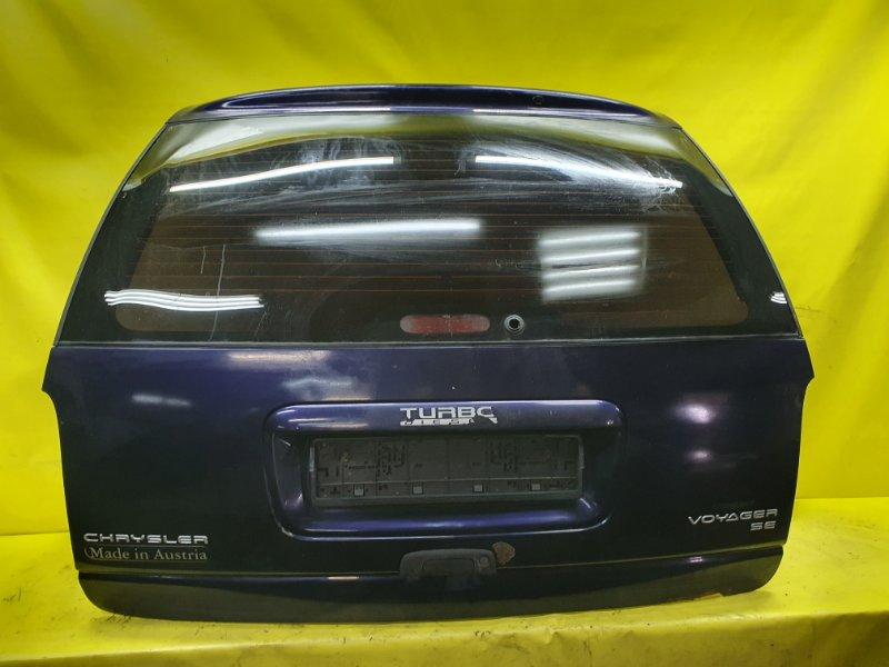 Дверь 5-я Chrysler Voyager VM54B 1996 задняя