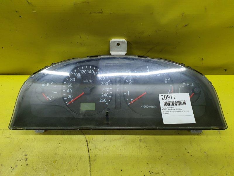 Панель приборов Nissan Cefiro A33 VQ20 2001