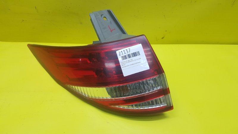 Стоп-сигнал Toyota Estima ACR50 2AZ-FE 2008 задний левый