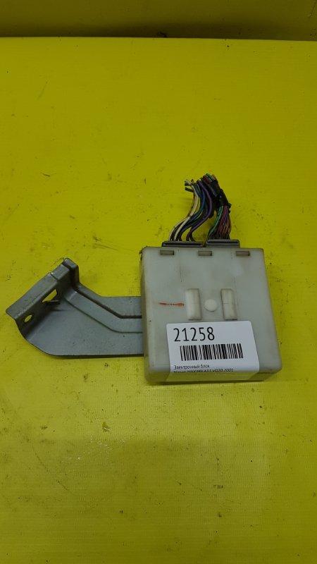 Электронный блок Nissan Maxima A33 VQ20 2001