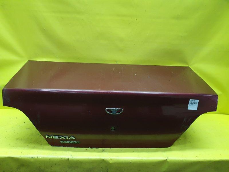 Крышка багажника Daewoo Nexia 1 G15MF 2002
