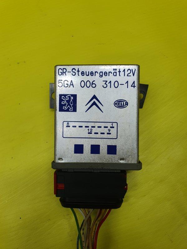 Электронный блок Peugeot 406 8B EW10J4 2001