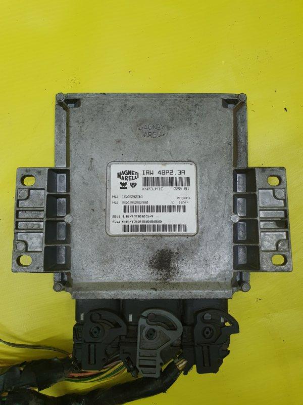 Блок управления efi Peugeot 406 8B EW10J4 2001