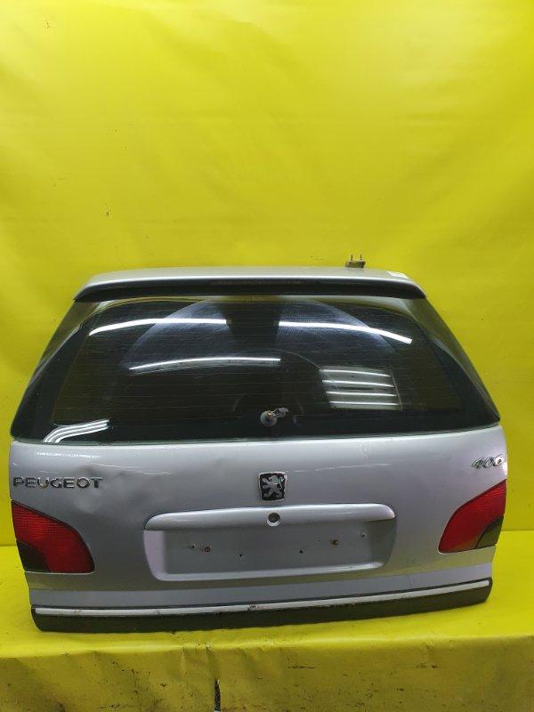Дверь багажника Peugeot 406 8B EW10J4 2001