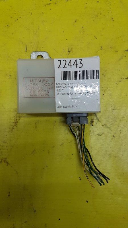 Блок управления дверьми Honda Stepwgn RF1 B20B 2000