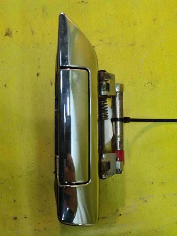 Ручка двери внешняя Nissan Bluebird SU14 CD20 1998 передняя левая
