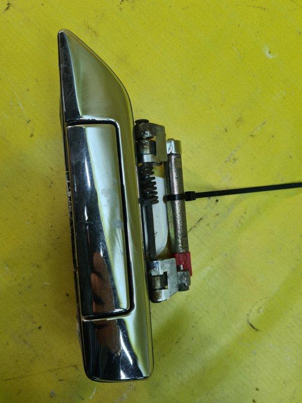Ручка двери внешняя Nissan Bluebird SU14 CD20 1998 задняя левая