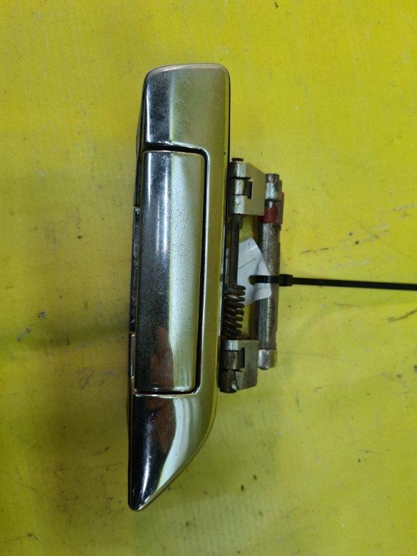 Ручка двери внешняя Nissan Bluebird SU14 CD20 1998 задняя правая
