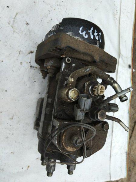 Топливная аппаратура Isuzu Elf NKR71L 4HG1 2002