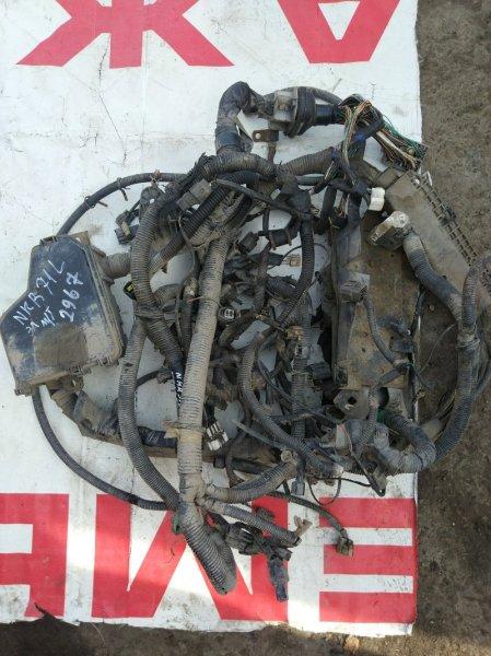 Проводка (коса) моторного отсека Isuzu Elf NKR71L 4HG1 2002