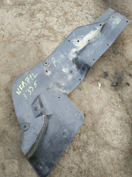 Подкрылок моторного отсека Isuzu Elf NKR71L 4HG1 2001 правый нижний