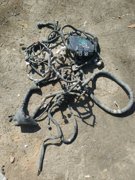 Проводка (коса) моторного отсека Toyota Dyna BU102 15B 1997