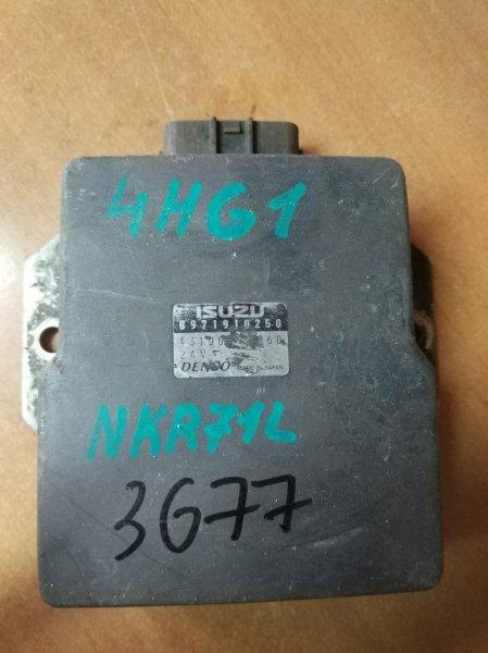 Блок управления топливным насосом Isuzu Elf NKR71E 4HG1 1999