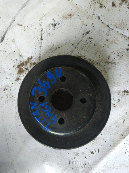 Шкив помпы Mazda Titan WG67H 4HG1 1995