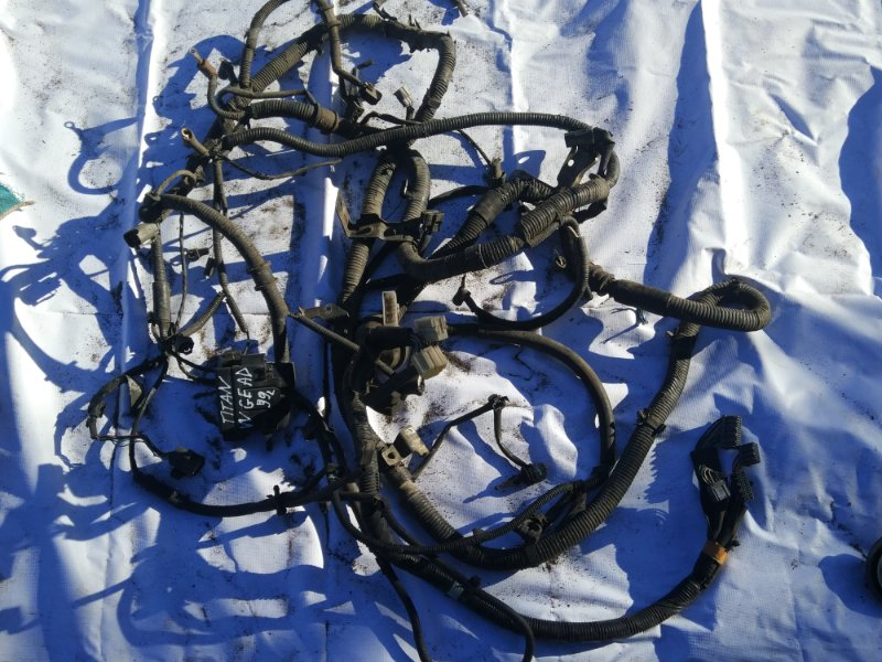 Проводка (коса) моторного отсека Mazda Titan WGEAD TF 1999