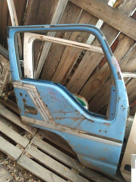 Дверь Isuzu Elf NKR66E 4HF1 1996 передняя правая