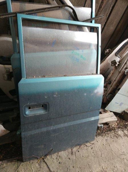 Дверь Toyota Dyna BU60 B 1991 задняя правая