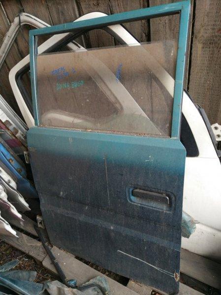 Дверь Toyota Dyna BU60 B 1991 задняя левая