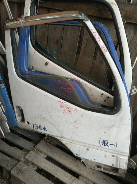 Дверь Mitsubishi Canter FE517B 4D33 1996 передняя правая