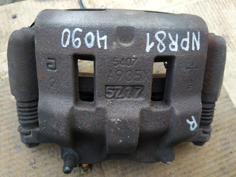 Тормозной суппорт Isuzu Elf NPR81AN 4HL1 2006 передний правый