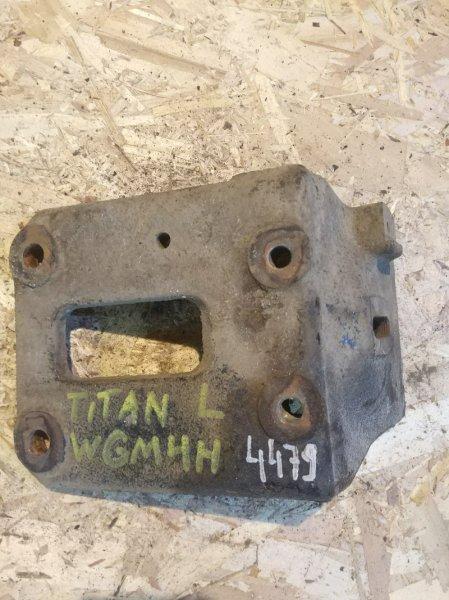 Кронштейн опоры двигателя Mazda Titan WGM4H TM 1992 левый