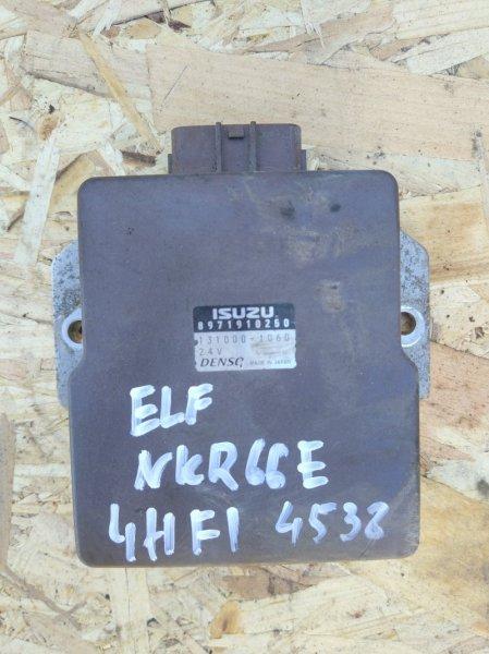 Блок управления топливным насосом Isuzu Elf NKR66E 4HF1