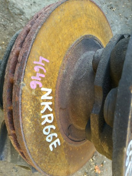 Тормозной диск Isuzu Elf NKR66E 4HF1 1998 левый