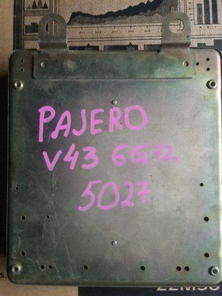 Блок управления двс (компьютер) Mitsubishi Pajero V43 6G72