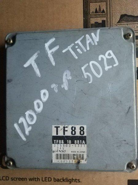 Блок управления двс (компьютер) Mazda Titan TF