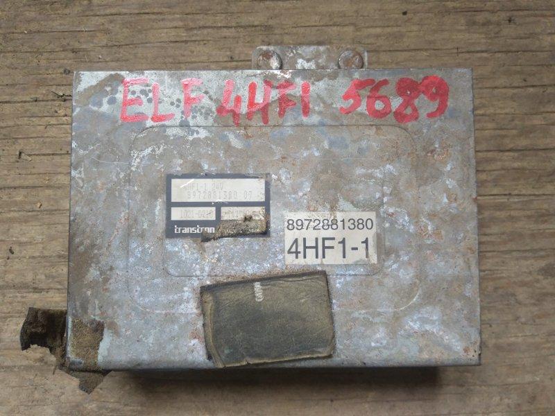 Блок управления двс (компьютер) Isuzu Elf 4HF1