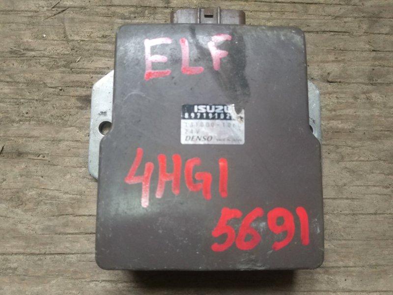 Блок управления топливным насосом Isuzu Elf 4HG1