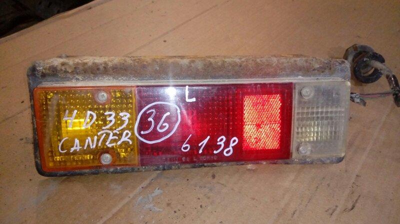 Стоп сигнал Mitsubishi Canter FE517B 4D33 1996 задний левый