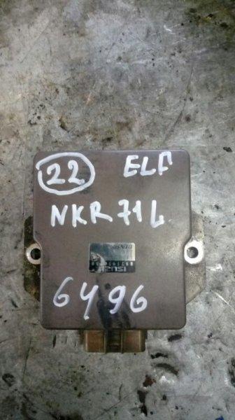 Блок управления топливным насосом Isuzu Elf NKR71L 4HG1 2001