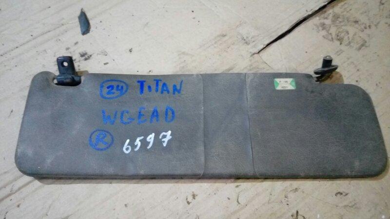 Козырек солнцезащитный Mazda Titan WGEAD TF 2000 правый